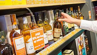 'Energielabel' voor sterke drank geeft informatie over hoeveelheid calorieën