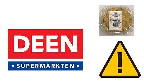 Kipsalade DEEN uit schap: tijdens controle listeria aangetroffen