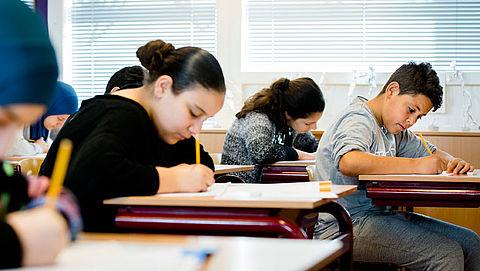Ouders willen kinderen naar hoger schoolniveau}