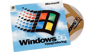 Tieners en Windows 95: 'Gaat hier een floppy-disk in?'