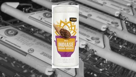 Salmonella in Mix Indiase Garam Masala Jumbo