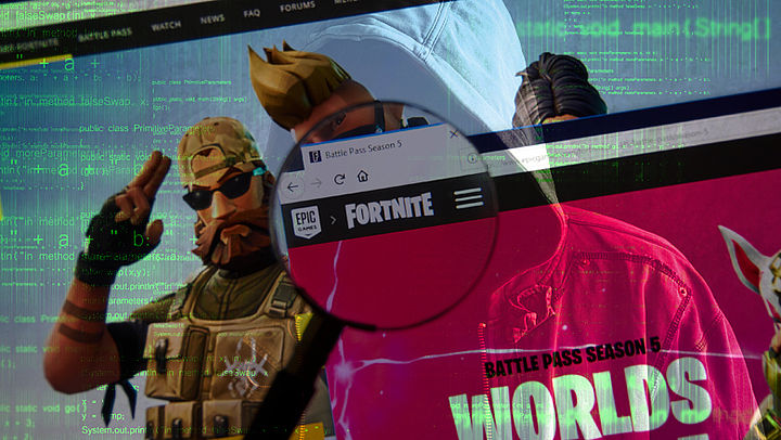 Veiligheidslek bij game Fortnite gevonden