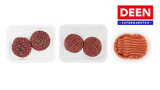 Let op: listeria aangetroffen op vlees van Deen