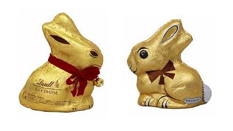 'Chocolade-paashazen besmet'