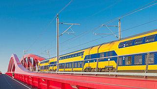 ProRail bereidt proef voor met zelfrijdende trein
