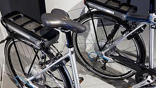 Brandgevaar door accu's elektrische fietsen