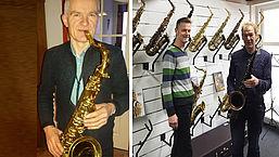 Douche: De Saxofoonwinkel