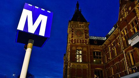 Geen jeugdreclame voor ongezond voedsel meer in Amsterdamse metro }