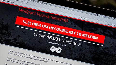 Al meer dan 10.000 klachten over vuurwerkoverlast