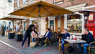 Grapperhaus: 'Opening terrassen elke week beoordeeld'