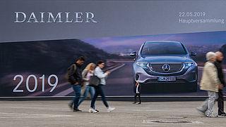 Miljoenenboete voor autoconcern Daimler wegens dieselschandaal