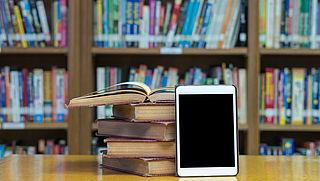 E-reader en e-book