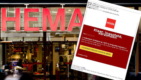 Let op: valse e-mail 'HEMA' in omloop}