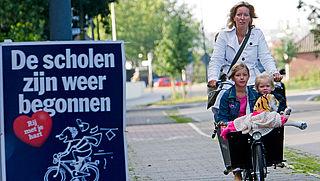 'Breng kind niet met de auto in eerste schoolweek'