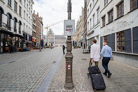 Antwerpen nu oranje zone (binnenkort ook Parijs?)