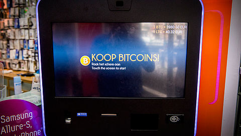 'Bitcoinpinautomaten kunnen zwart geld witwassen'}