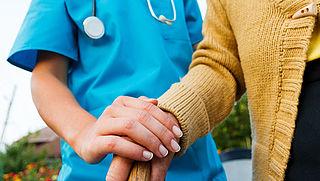 Niveau activiteiten alzheimerpatiënt omlaag