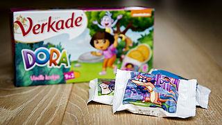 Verbod voor kinderidolen op voedselverpakkingen voor kinderen