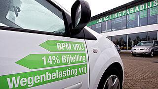 Forse stijging aanschafbelasting auto's