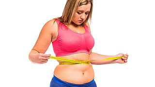 Helft ontevreden over eigen gewicht