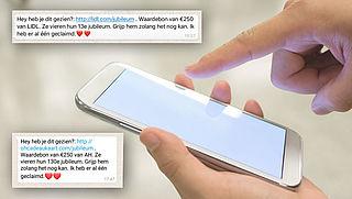 Pas op voor waardebon-winacties via WhatsApp en Facebook