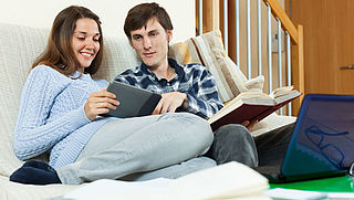 Tevreden lezers van (vaak illegale) e-books