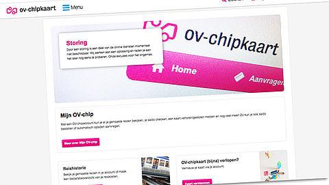 Website ov-chipkaart al dagenlang getroffen door storing