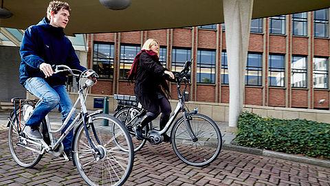 Elektrische fiets populairst in Oost-Nederland}