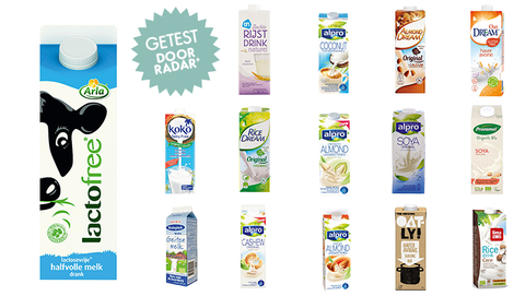 RADAR+ test: Alternatieve melk