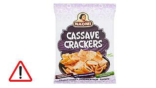 Terugroepactie Naomi cassave kroepoek