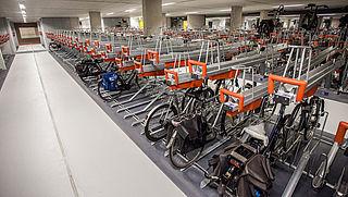 NS vernieuwt entree van 44 zelfservice-fietsenstallingen