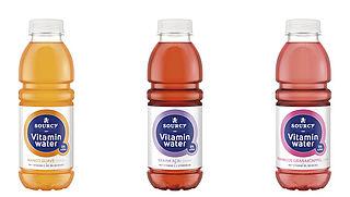 Vitaminwater van Sourcy bevat nu geen suiker meer, maar het blijft frisdrank (en geen water)