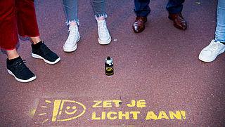 Campagne voor gebruik fietsverlichting