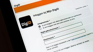 Ook DigiD getroffen door cyberaanval