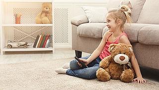 Kinderen kunnen nu ook lesvideo's op tv kijken