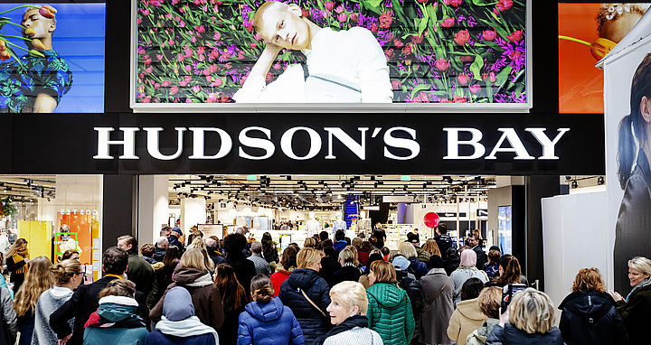Hudson's Bay verdwijnt dit jaar uit Nederland