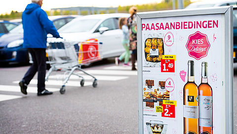 'Supermarkten behalen recordomzet met Pasen'}