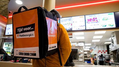 'Eten buiten de deur en bestellen steeds populairder'
