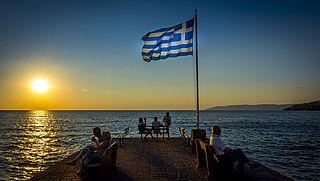 Reisadvies voor de Griekse eilanden naar oranje