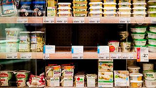 Let op: foute informatie op krabsalade Albert Heijn
