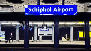 Schiphol zaterdag niet per trein bereikbaar