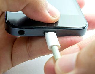 Let op: laad je telefoon niet op via je pc