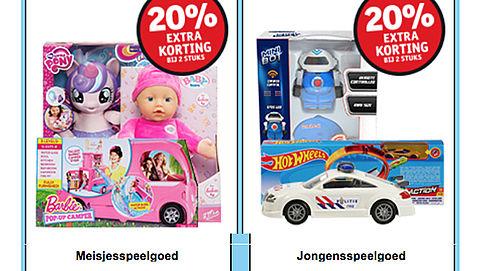 'Jongens'- en 'meisjesspeelgoed' oké, maar laat kind de keuze, niet de fabrikant