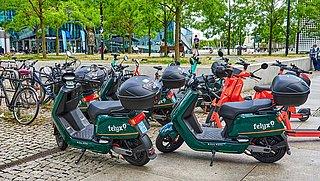 Risico op boete bij verkeerd parkeren deelscooter Felyx