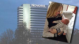 Douche: Novotel