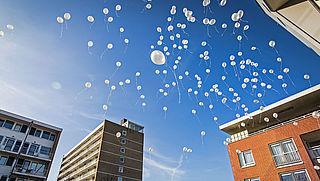 Verbod op ballonnen oplaten in Utrecht en Den Haag