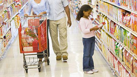 Supermarkten overtreden reclameregels kinderen}