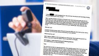 Politie waarschuwt voor afpersingsmail over masturbatiefilmpje