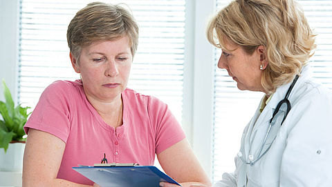 Morele plicht Q-koorts patiënt