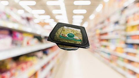 Mogelijk stukjes plastic in Oliviana Ensalada green van Dupont Cheese